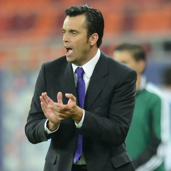 Andorra national team manager Koldo Alvarez