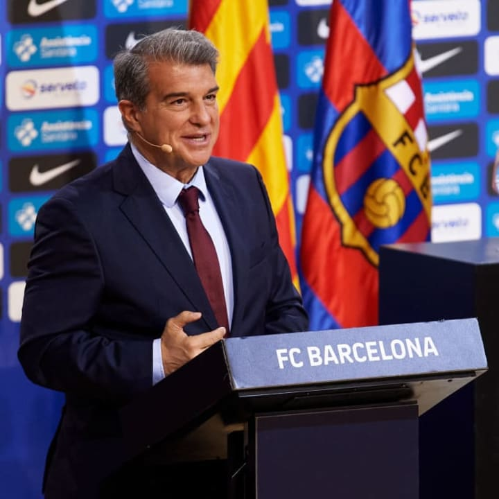 Joan Laporta could be on the hunt for a new head coach