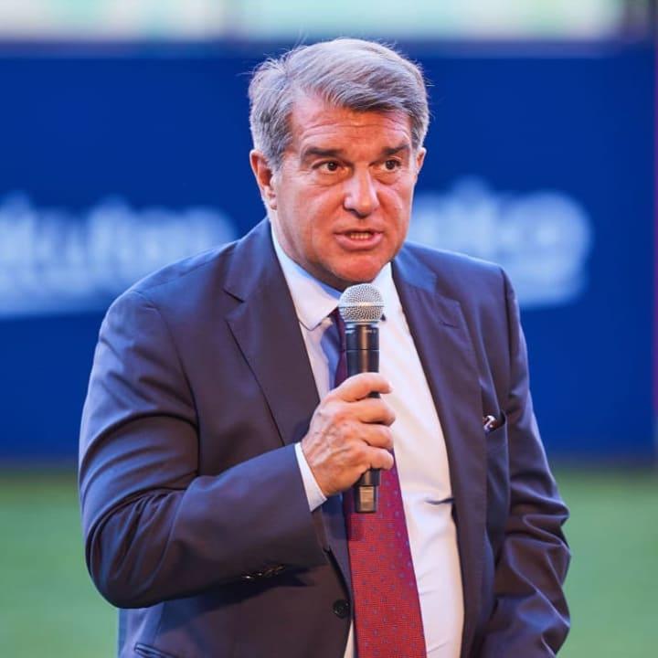Joan Laporta has a big job on his hands at Barcelona
