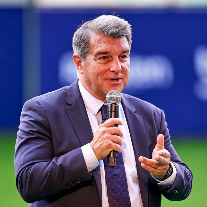 Joan Laporta is against the move