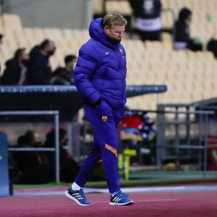 Koeman will be without Messi for two games