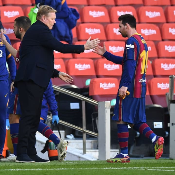 Ronald Koeman, Lionel Messi