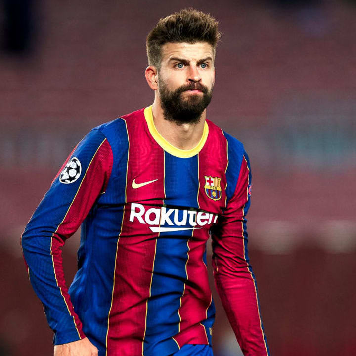 Gerard Pique has won it all with Barcelona & Spain