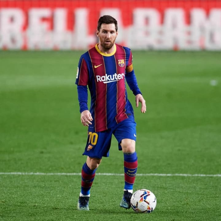 Messi could be seen demanding more from his team