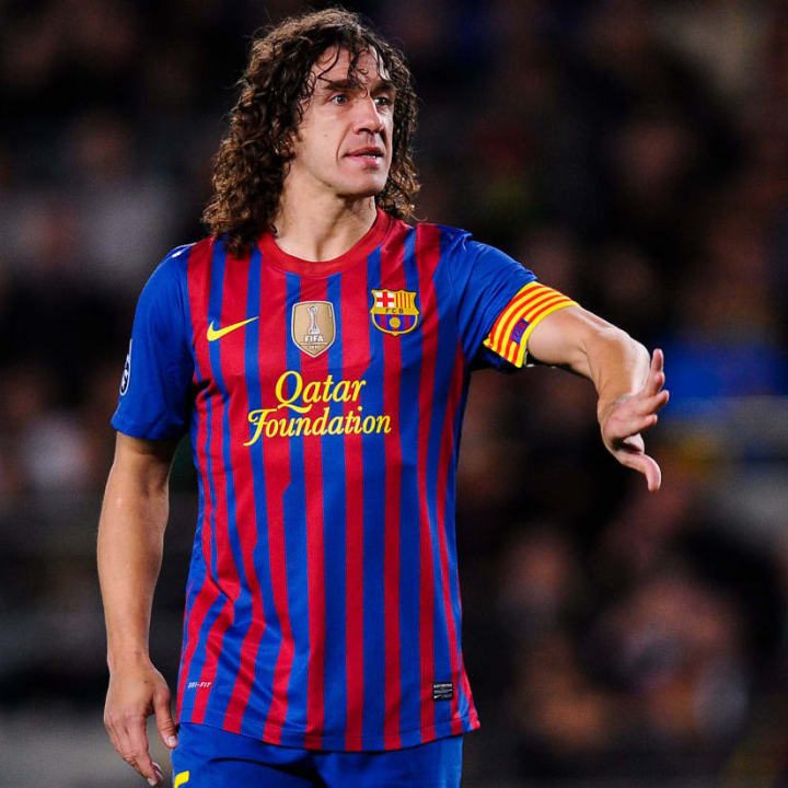 Puyol led Barcelona for over a decade