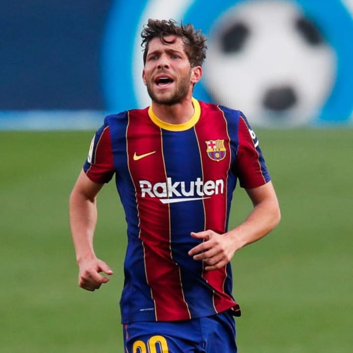 Sergi Roberto's career in Barcelona looks to be coming to an end