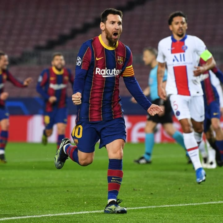 Messi is still among the goals