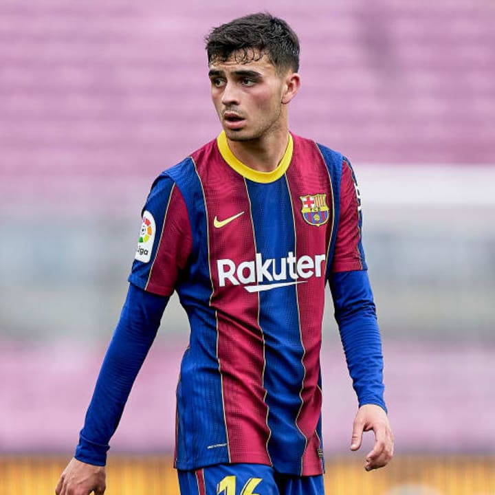 Pedri already played over 50 times for Barcelona in 2020/21