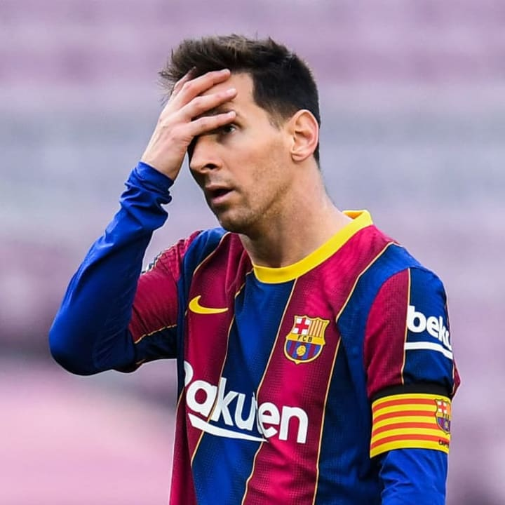 Lionel Messi failed to attend a Covid test last summer