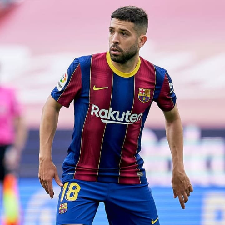 Barcelona want more competition for Jordi Alba