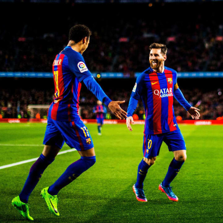 Neymar previously wanted to reunite with Lionel Messi at Barcelona