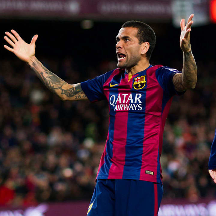 Alves was on his own level for so long