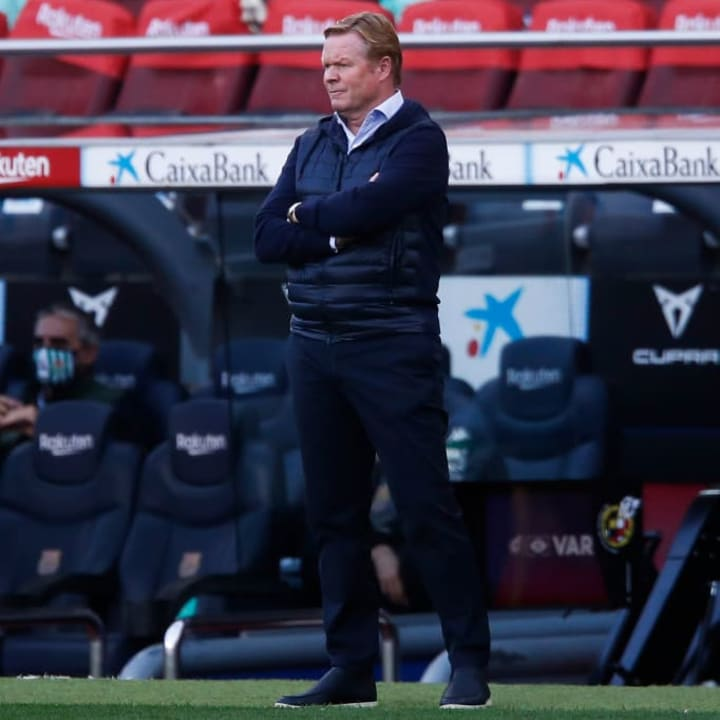 Koeman is yet to put his faith in Puig