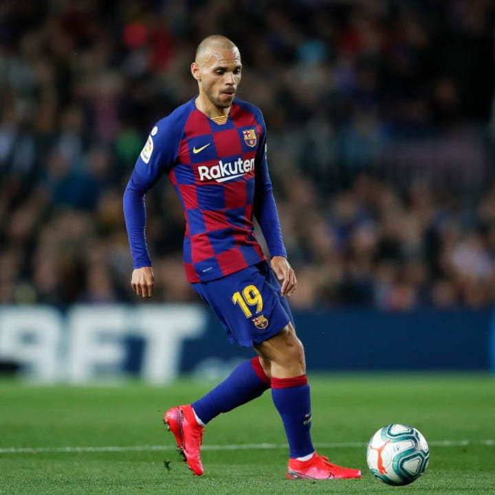Braithwaite has scored once for Barcelona in 16 appearances