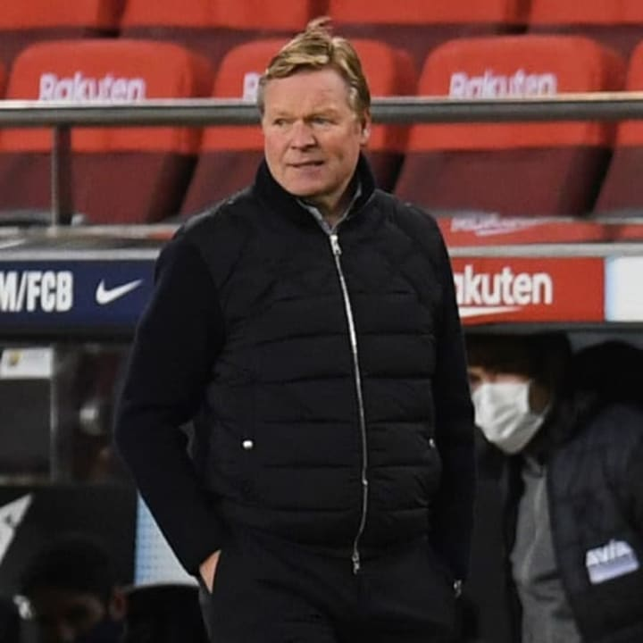 Koeman thinks catching Atletico will be too tough
