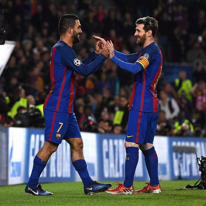 Lionel Messi, Arda Turan