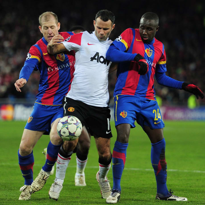 United were squeezed out of the group stage by Basel in 2011