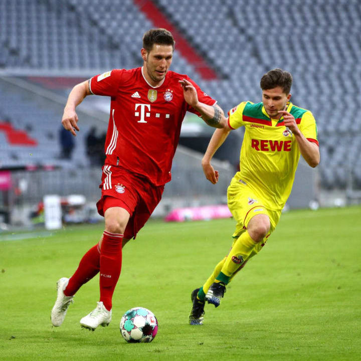 Niklas Süle überzeugte gegen Lazio und Köln als Rechtsverteidiger