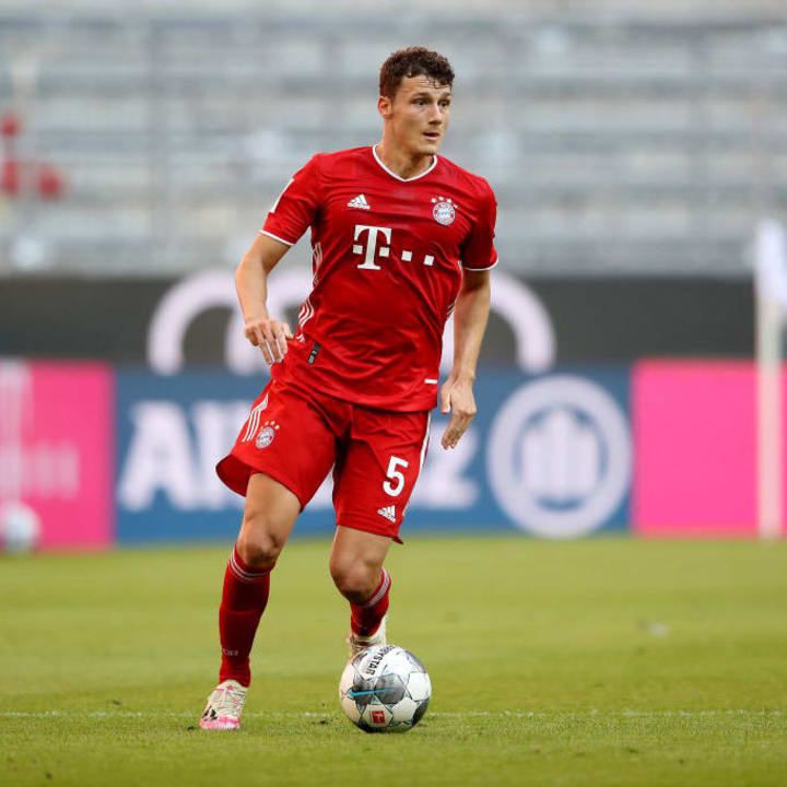 Pavard has slotted in seamlessly on the right-hand side for Bayern
