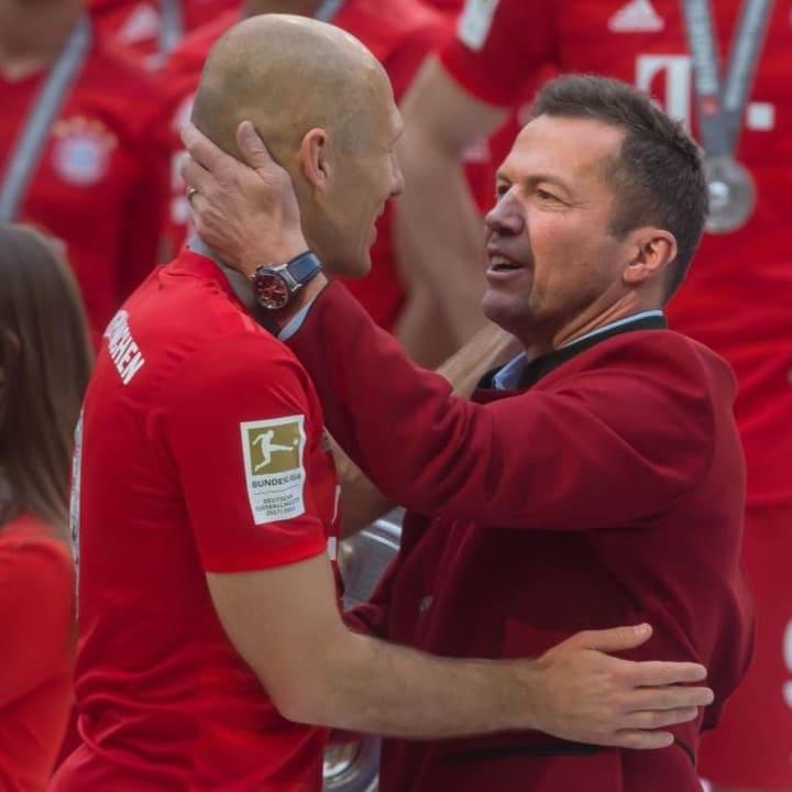 Arjen Robben, Lothar Matthaeus