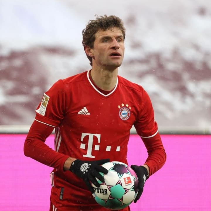 Muller was doing it all
