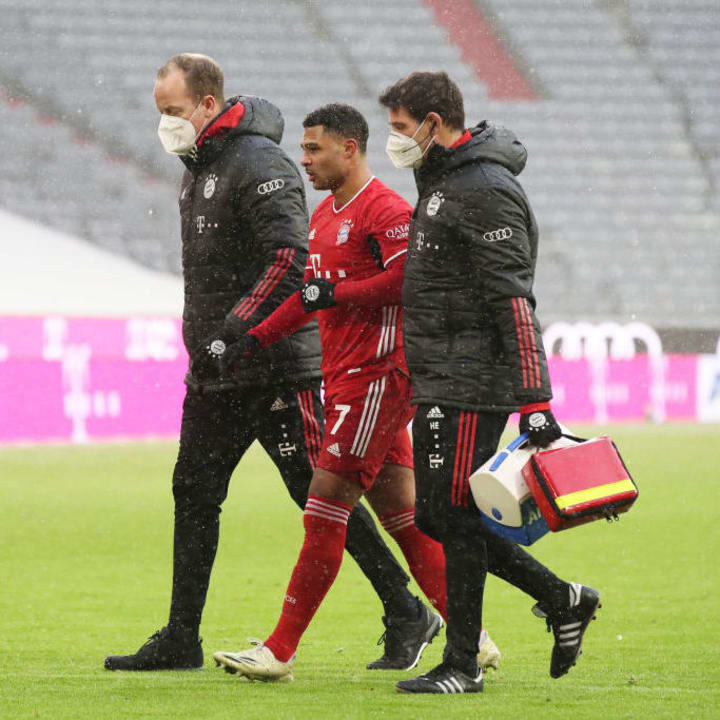 Gnabry's injury disrupted Bayern's flow