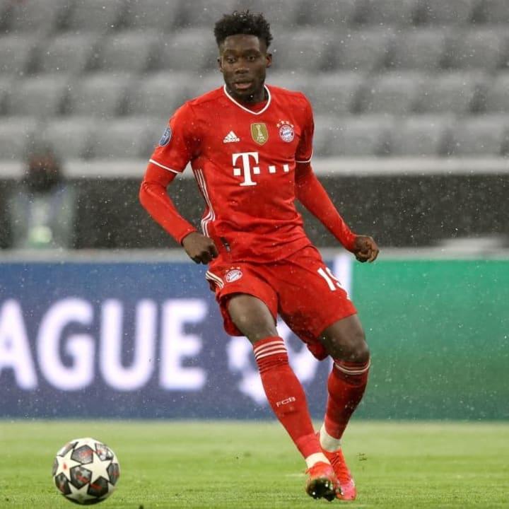 Alphonso Davies is an integral part of Bayern's team