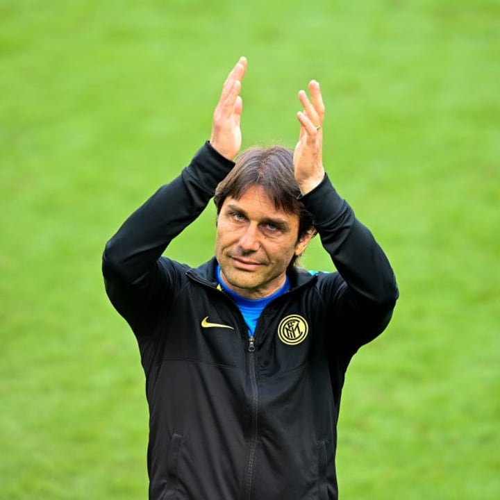 Antonio Conte left Inter after just two seasons in charge