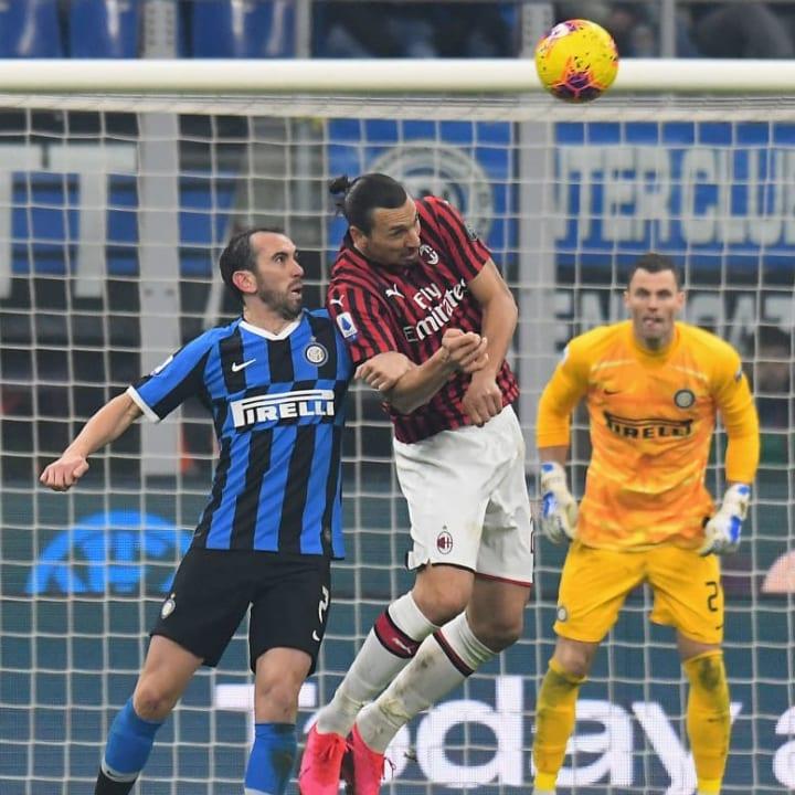 Zlatan Ibrahimovic, Diego Godin