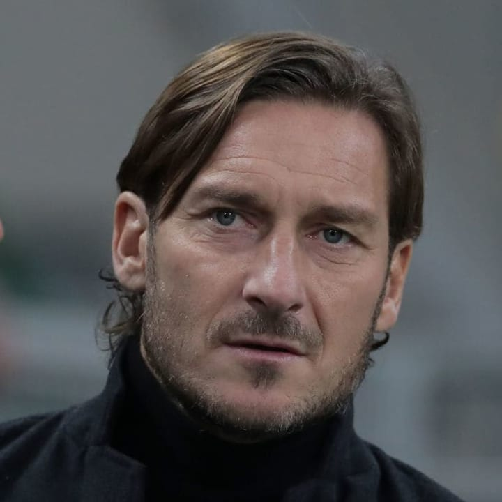 Francesco Totti has denied any claims of wrongdoing prior to registering as a sports agent