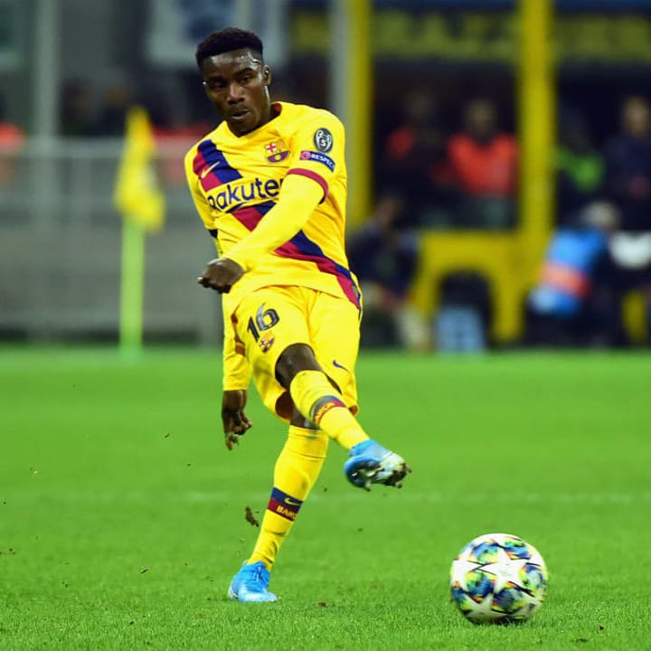 Wague has huge potential, even though he's slipped down the Barcelona pecking order
