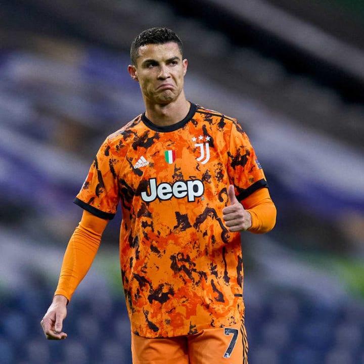 Ronaldo struggled this week