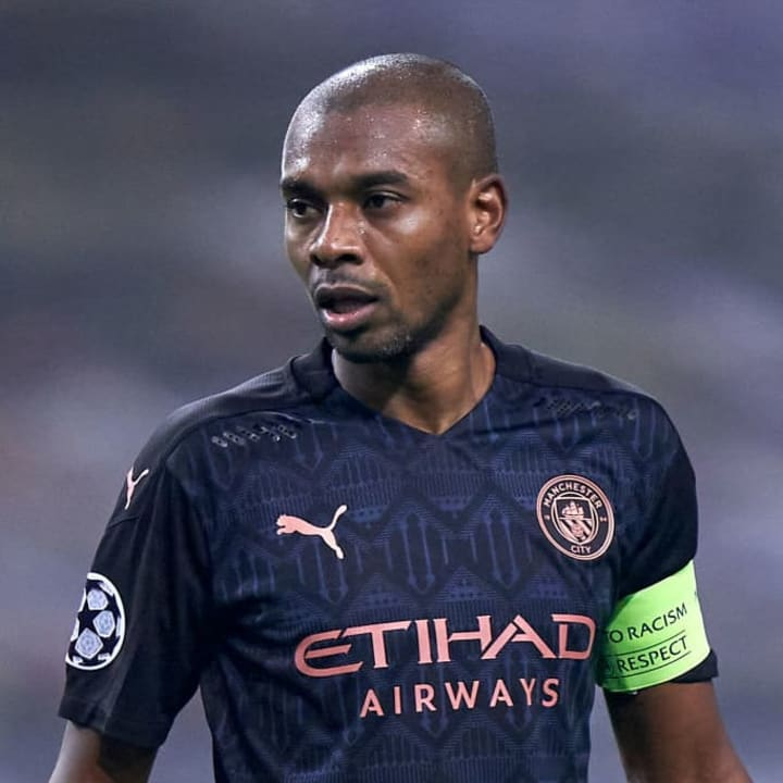 Fernandinho was appointed City captain at the start of the season