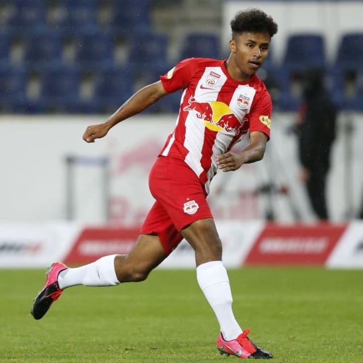 Karim Adeyemi will sich in Salzburg weiter in den Fokus spielen