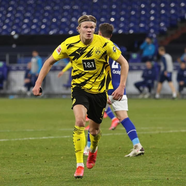 United are also interested in Haaland