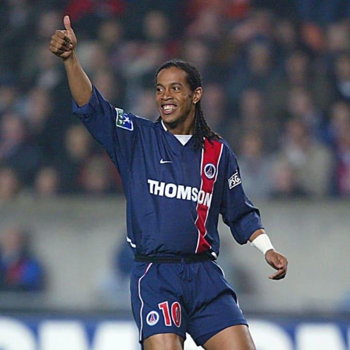 Ronaldinho's first European club was PSG