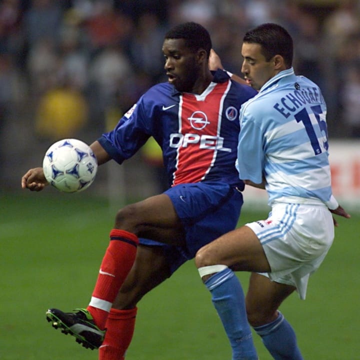 Jay-Jay Okocha spent four years in France