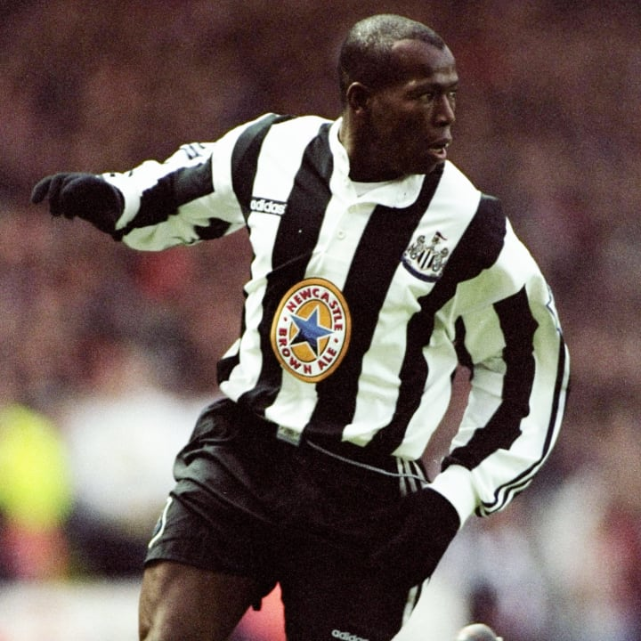 Faustino Asprilla of Newcastle United