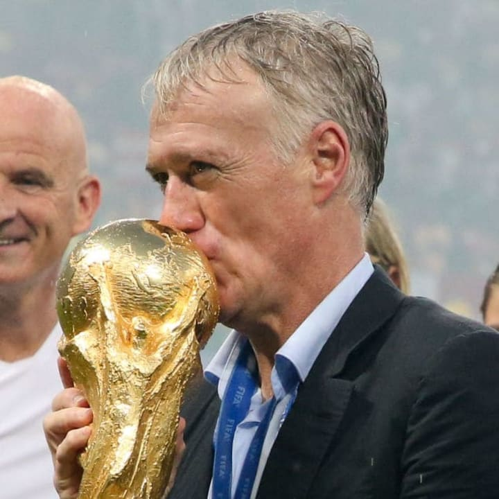 Didier Deschamps was appointed by France back in 2012