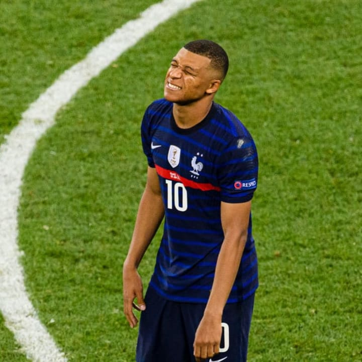 Kylian Mbappe suffered heartbreak at Euro 2020 with France