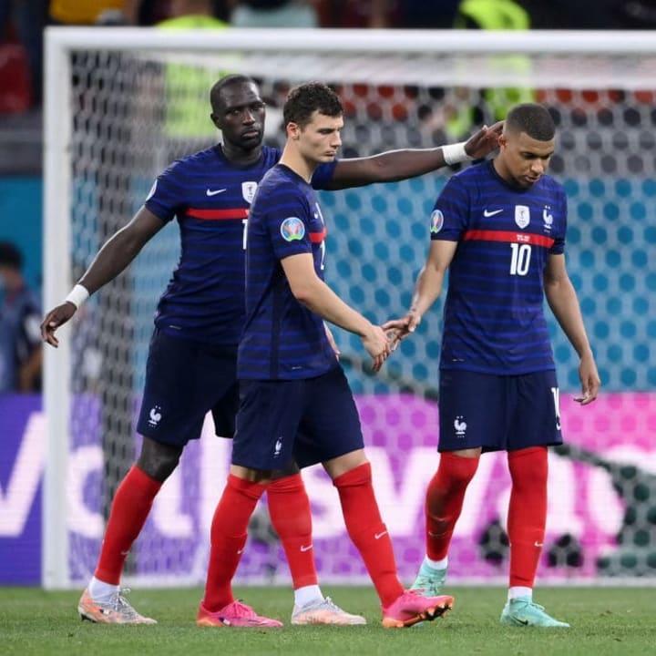Kylian Mbappe, Moussa Sissoko, Benjamin Pavard