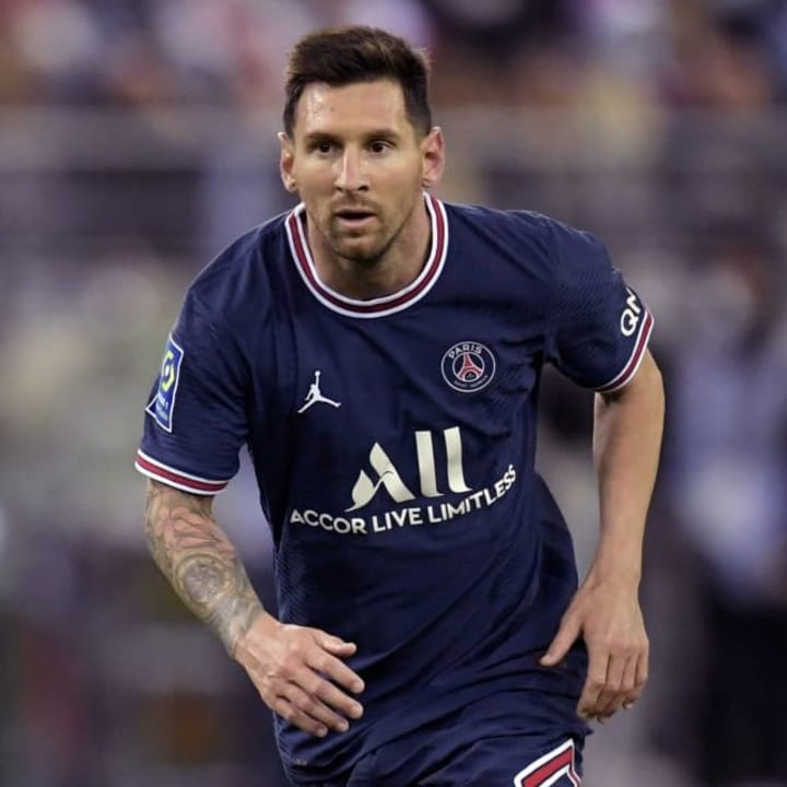 Lionel Messi is the highest rated player in FIFA 22