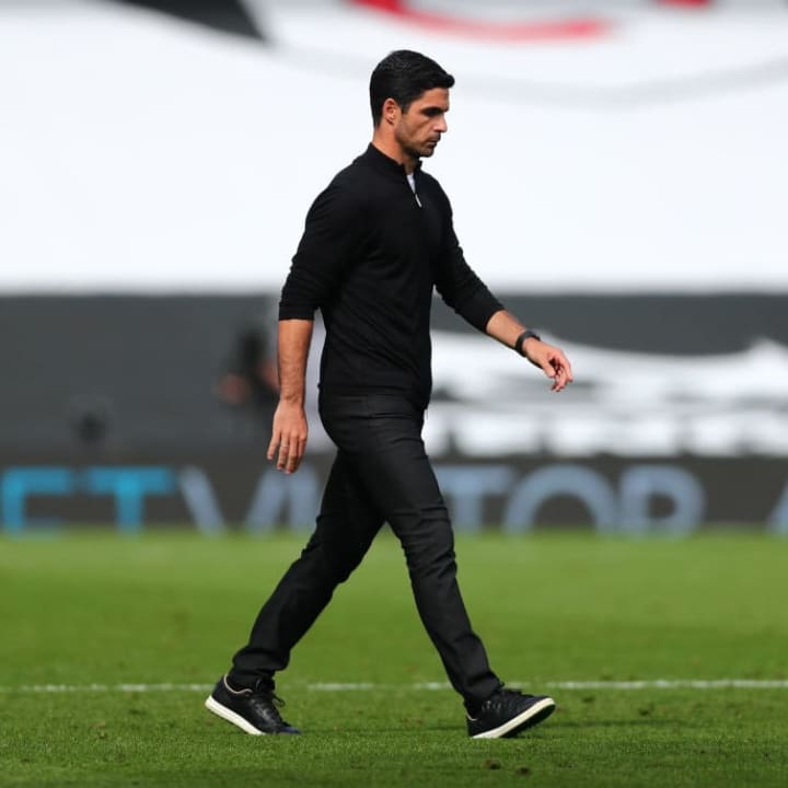 Arteta is keen to take Arsenal in a different direction