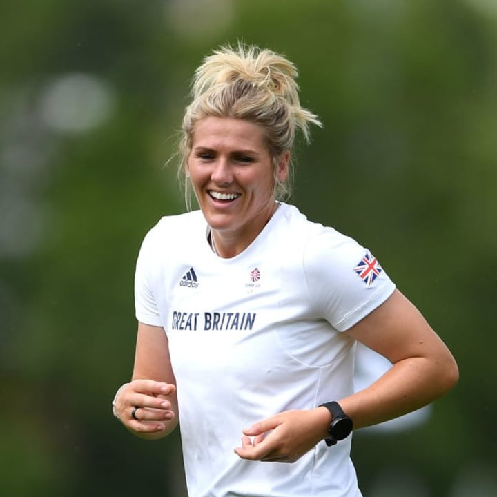Millie Bright was introduced in the second half