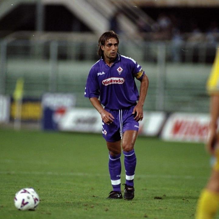 Gabriel Batistuta of Fiorentina
