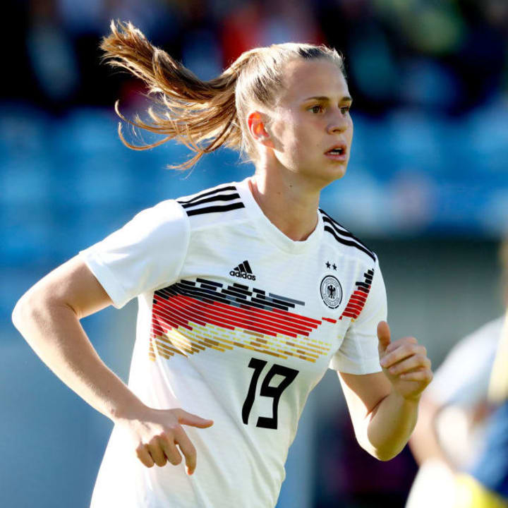 Klara Bühl ist eine der großen Hoffnungen der DFB-Frauen