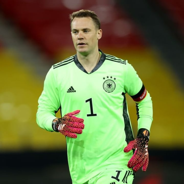 Manuel Neuer will take his place as first-choice goalkeeper