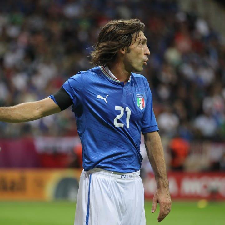 Andrea Pirlo at Euro 2012