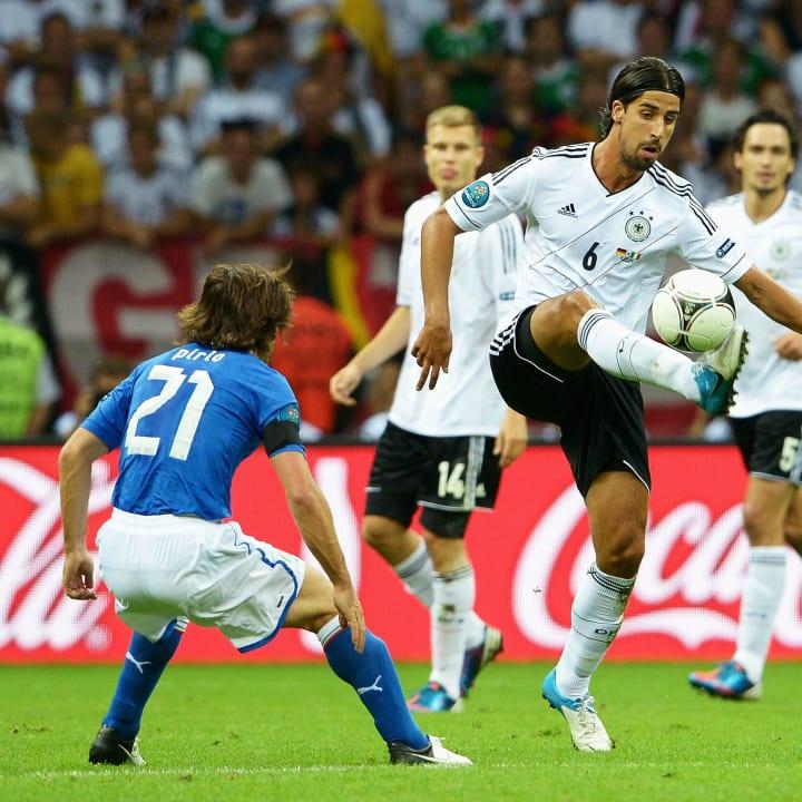 Pirlo und Khedira standen sich bei der EM 2012 gegenüber