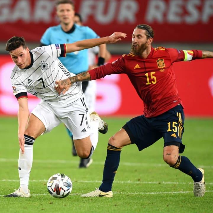 Julian Draxler, Sergio Ramos